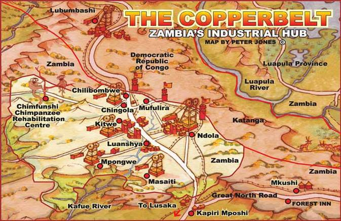 Copperbelt districten
